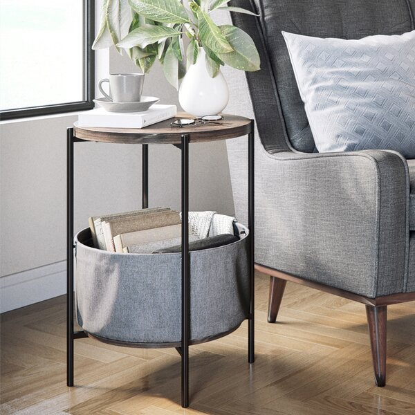 Bluxome End Table with Storage by Trent Austin Design