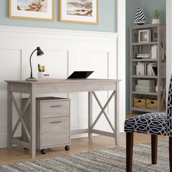 KeyWest 3 Piece Desk Office Suite by Beachcrest Home