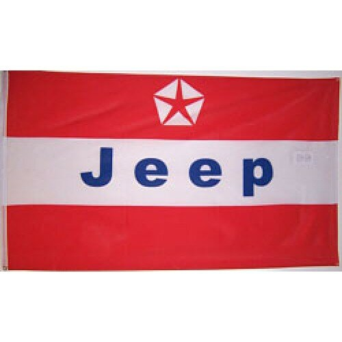 Jeep Polyester 3 x 5 ft. Flag by NeoPlex