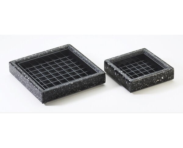 Square Stone Drip Tray by Cal-Mil