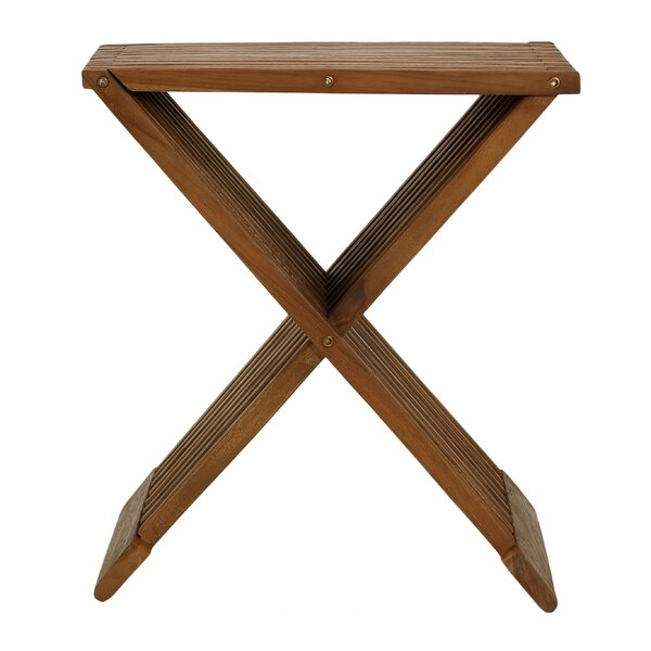 Rocco Folding Stool by Bare Decor