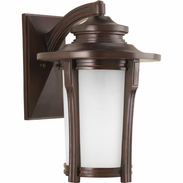 Triplehorn 1-Light Compact Fluorescent Wall Lantern by Alcott Hill