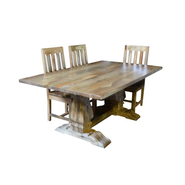 Harley 4 Piece Dining Set by Millwood Pines