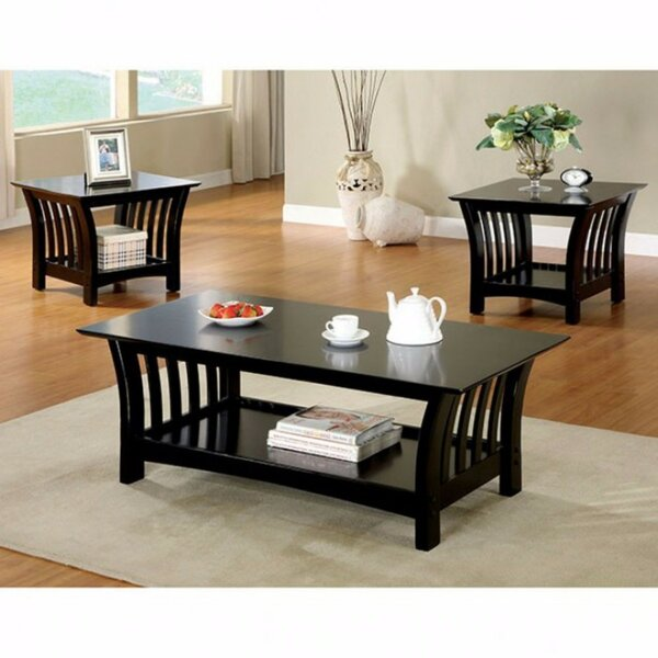 Procter Wooden 3 Piece Coffee Table Set by Winston Porter
