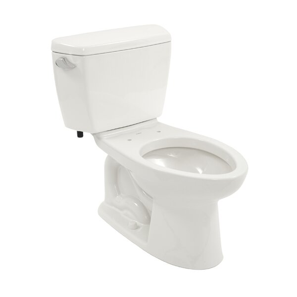 Drake Eco 1.28 GPF Elongated  Two-Piece Toilet by Toto