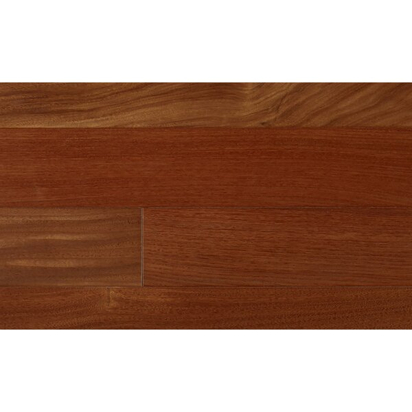 3-1/4 Engineered Santos Mahogany Hardwood Flooring in Red by IndusParquet