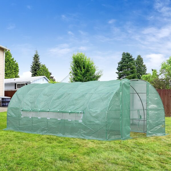 10 Ft. W x 20 Ft. D Greenhouse by Outsunny