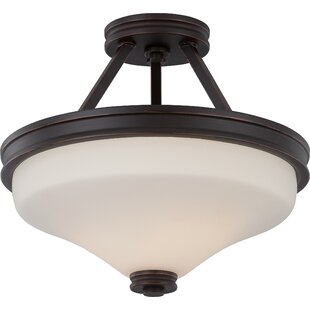 Crainville 2-Light Semi Flush Mount By Winston Porter Ceiling Lights