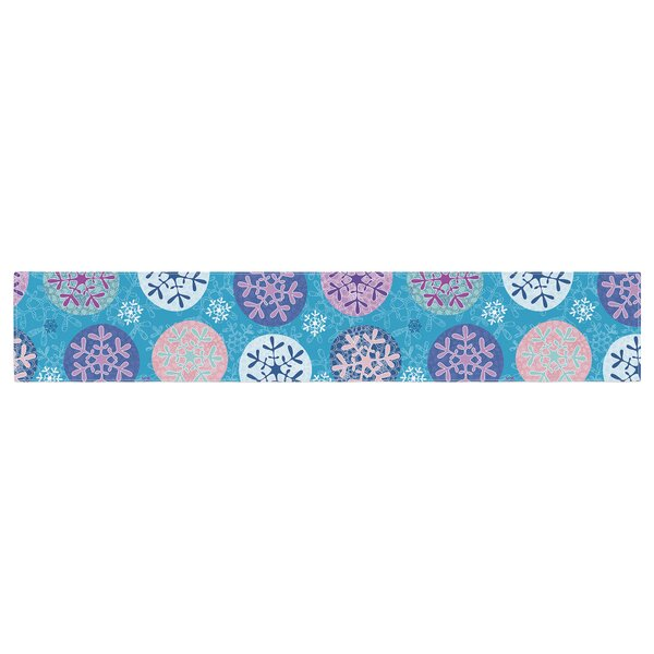 Julia Grifol Floral Winter Table Runner by East Urban Home