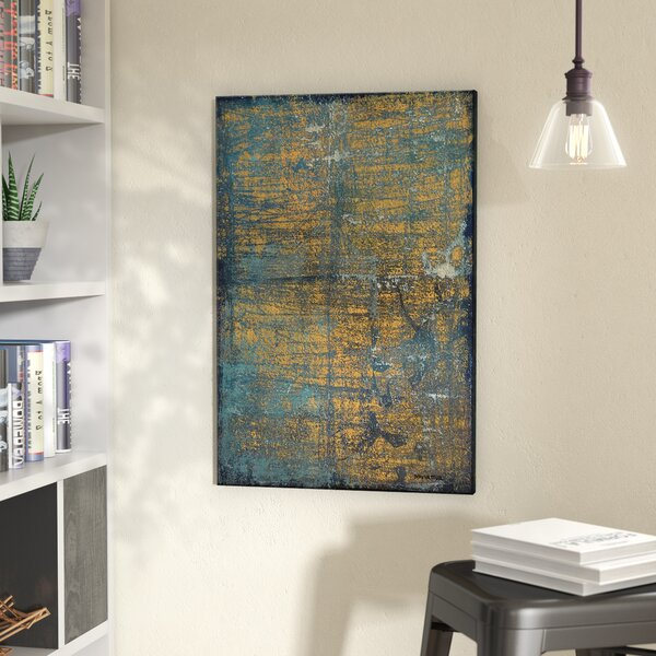 Abstract Night Life Printing Print on Wrapped Canvas by Trent Austin Design