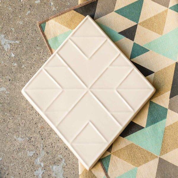 Tessellate Ceramic Trivet by Danica Studio