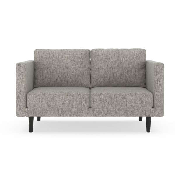 Schermerhorn Pebble Weave Loveseat By Orren Ellis