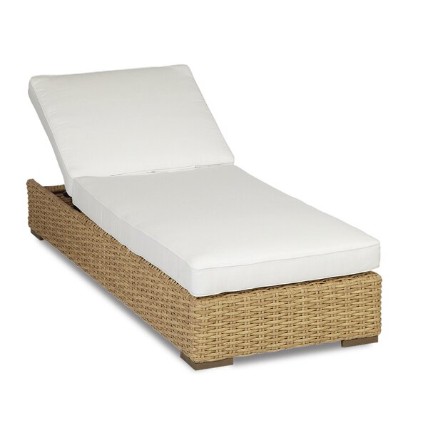 Leucadia Chaise Lounge with Cushions by Sunset West Sunset West