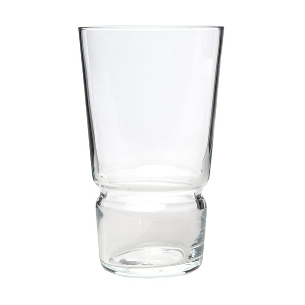 Tietz Hi-ball 14 oz. Every Day Glass (Set of 6) by Orren Ellis
