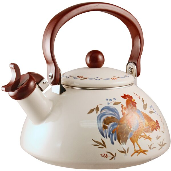 Impressions Country Morning 2-qt. Whistling Tea Kettle by Corelle