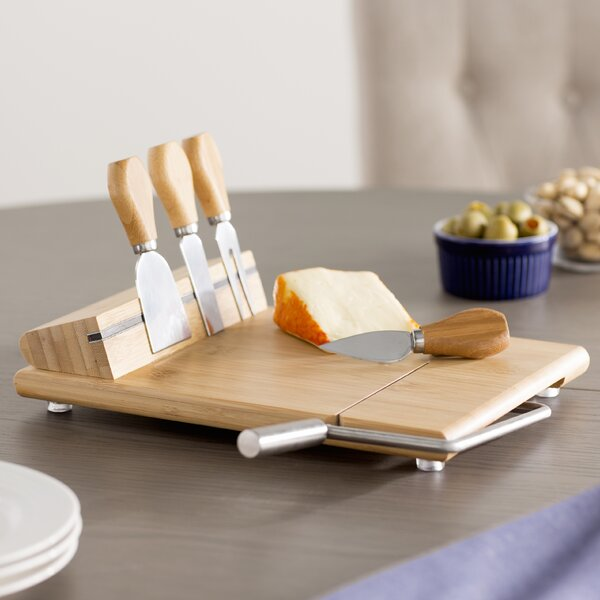 Fausta 6 Piece Cheese Tray Set by Mint Pantry