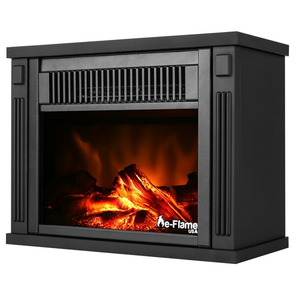 Priestley Portable Electric Fireplace By Charlton Home