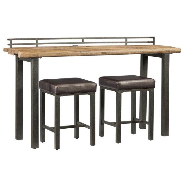 Elmore 3 Piece Pub Table Set by Williston Forge Williston Forge