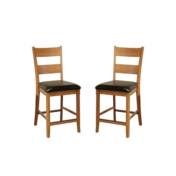 Whipple 24 Bar Stool (Set of 2) by Millwood Pines
