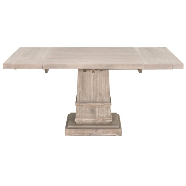 Leiston Extendable Dining Table by Three Posts