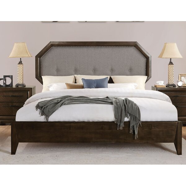 Bloomington Upholstered Panel Bed by Foundry Select