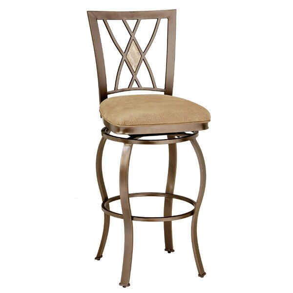 Dallas 30 Swivel Bar Stool by Darby Home Co