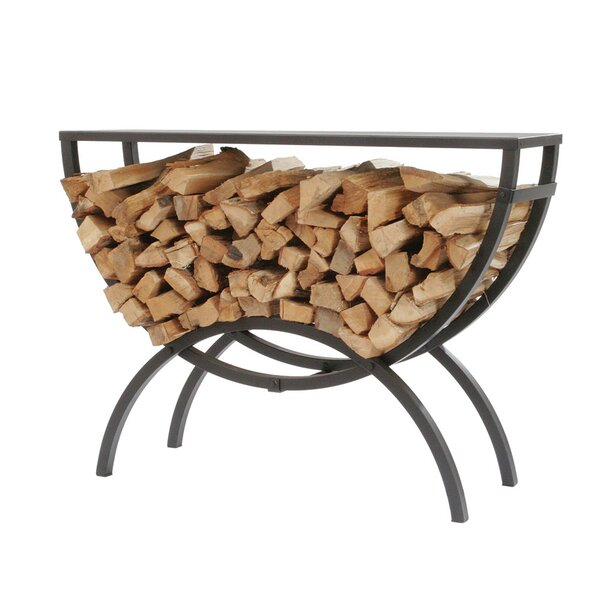 Crescent Log Rack Table Top by Shelter