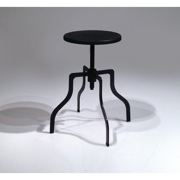 Crab Adjustable Height Swivel Bar Stool By Mobital