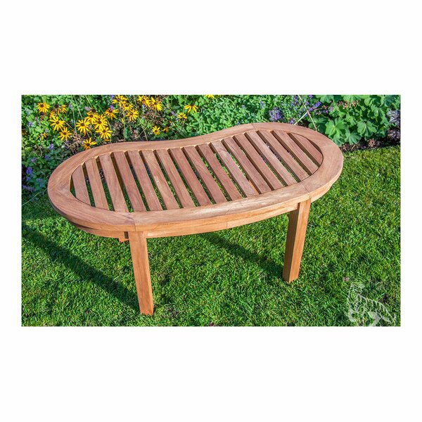 Annalise Teak Coffee Table by Rosecliff Heights