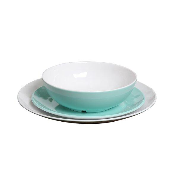 Guthridge Melamine Dinner Plate (Set of 4) by Wins
