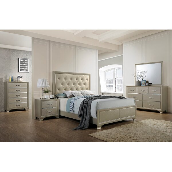Braysham Tufted Panel Configurable Bedroom Set by Rosdorf Park