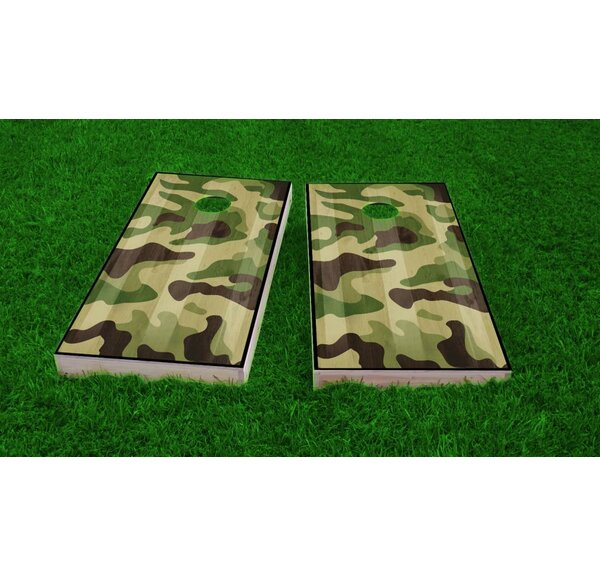 Hunting / Camo Light Weight Cornhole Game Set by Custom Cornhole Boards