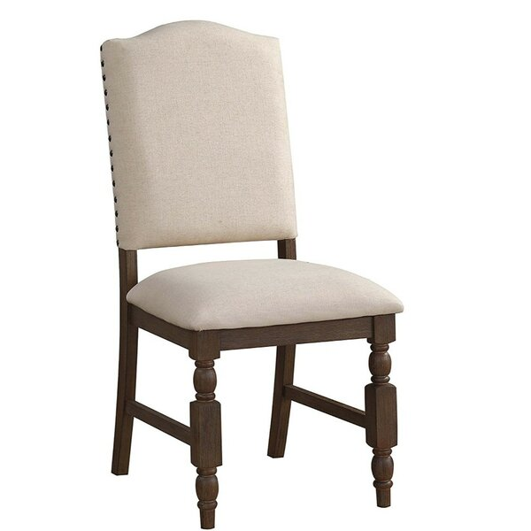 Nahlia Upholstered Dining Chair (Set of 2) by Gracie Oaks