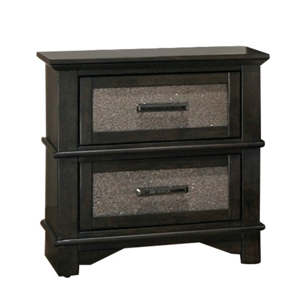 Gino 2 Drawer Nightstand by Charlton Home