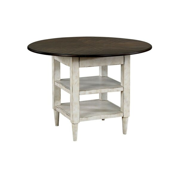 Pilkington Rustic Solid Wood Dining Table by August Grove