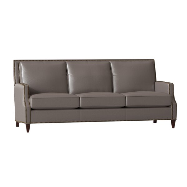 Howe Leather Sofa by Bradington-Young