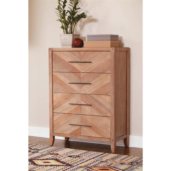 Plainville 4 Drawer Chest by Foundry Select