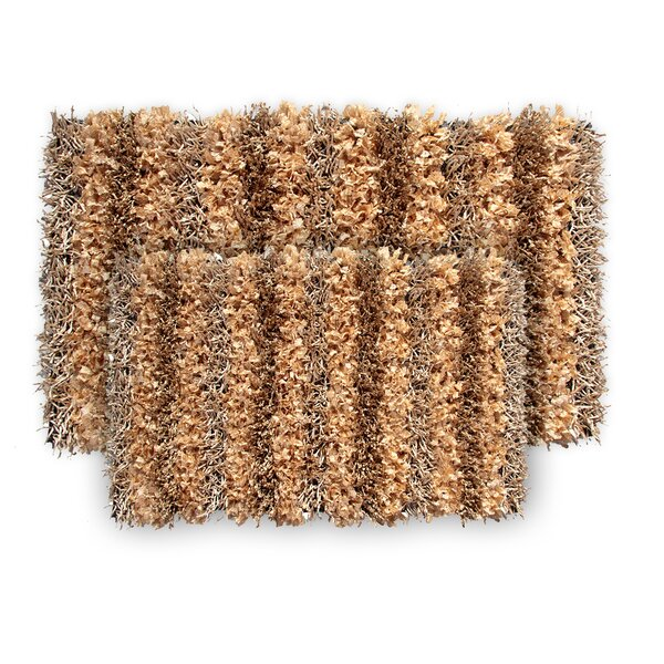 SeaBreeSeaBreeze 2 Piece Hand-Woven Champagne Novelty Rug Set by Ess Ess Exports