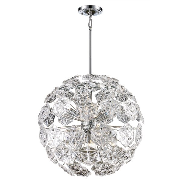Burton 6-Light Globe Chandelier by House of Hampton