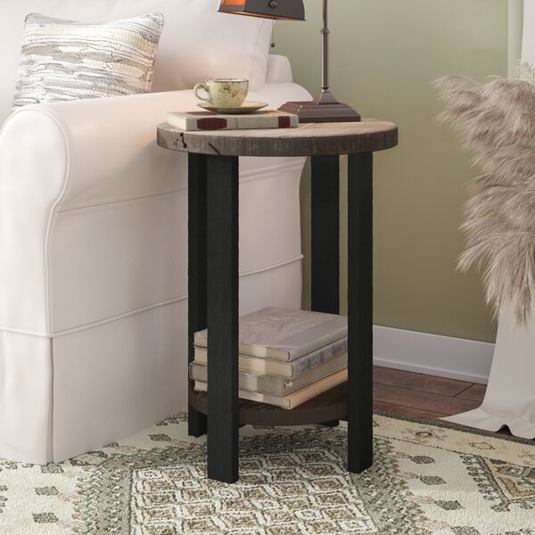 Steadman End Table With Storage By Trent Austin Design