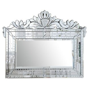 Rosdorf Park Danyel Traditional Arch/Crowned Top Wall Mirror