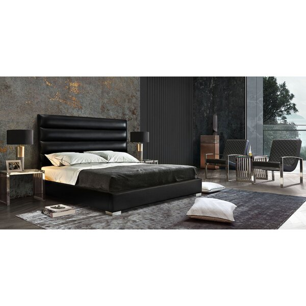 Ripon Channel Tufted Upholstered Standard Bed by Orren Ellis