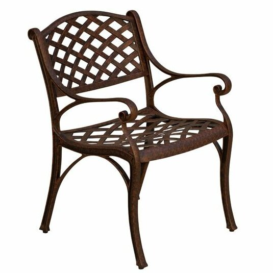 La Jolla Stacking Patio Dining Chair by California Outdoor Designs