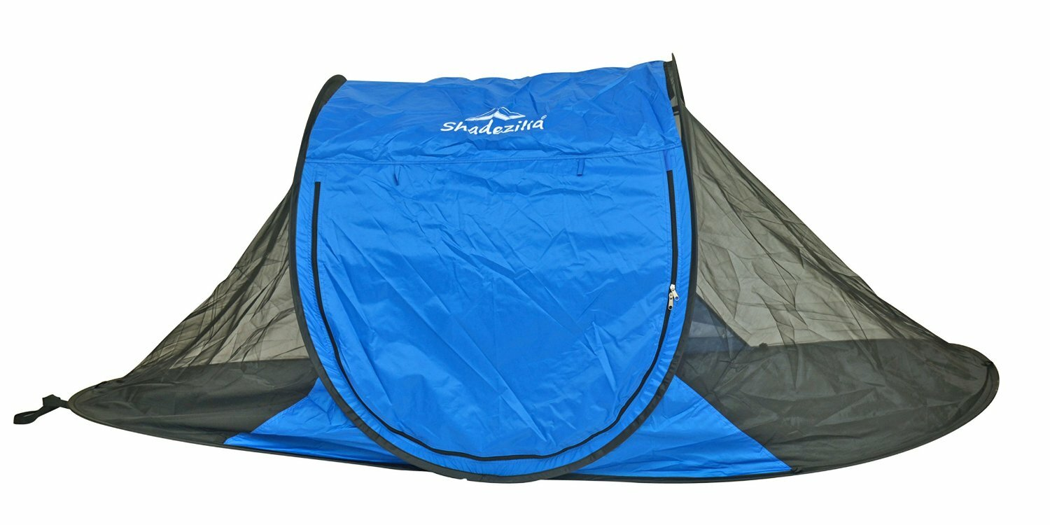 Free-Standing Instant Pop-Up Mosquito / Bug 1 Person Tent with Carry Bag  sc 1 st  Wayfair & Shadezilla Free-Standing Instant Pop-Up Mosquito / Bug 1 Person ...