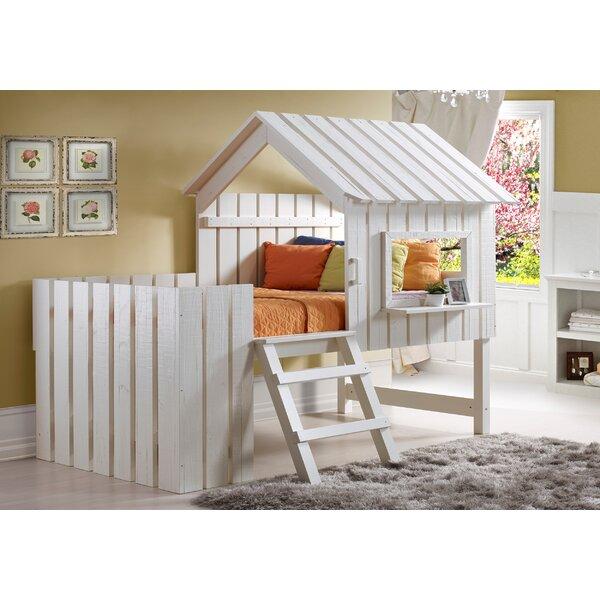 Wasserhund Twin Low Loft Bed by Harriet Bee