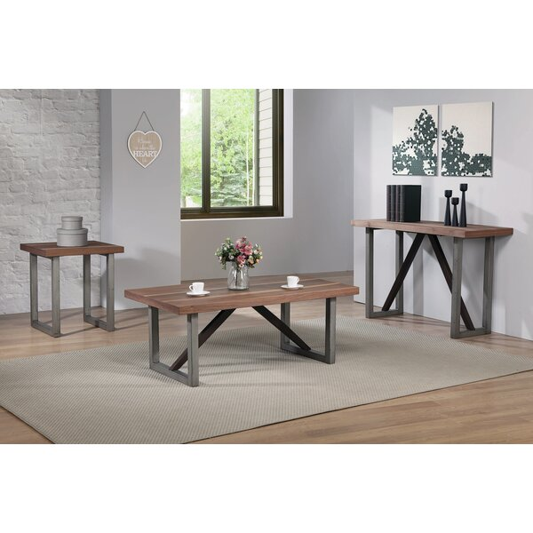Jozwiak 3 Piece Coffee Table Set by Williston Forge