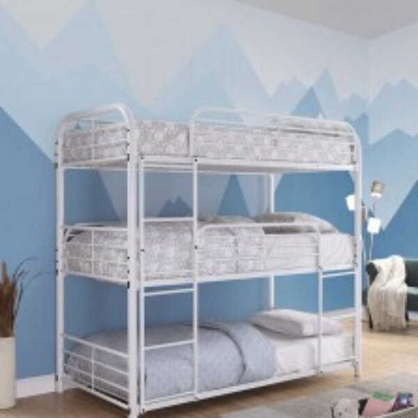 Bevins Twin Triple Bed by Harriet Bee