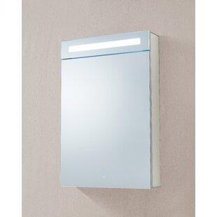 Bargain Dahlstrom 20 x 30 Recessed/Surface Mount Medicine Cabinet with LED Lighting ByOrren Ellis