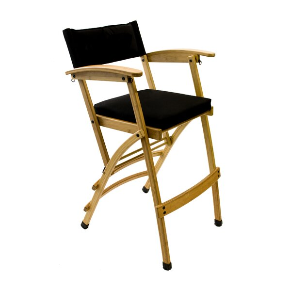 Folding Director Chair with Cushion by Totally Bamboo Totally Bamboo