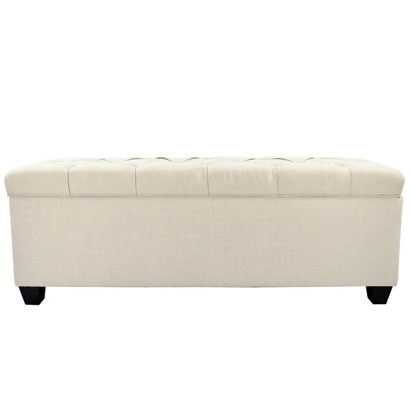 Heaney Diamond Tufted Upholstered Storage Bench By Alcott Hill by Alcott Hill Great Reviews